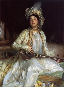 John Singer Sargent - Almina, Daughter of Asher Wertheimer