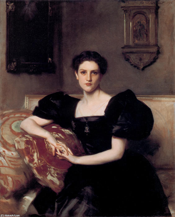 Elizabeth Winthrop Chanler, Oil On Canvas by John Singer Sargent (1856-1925, Italy)