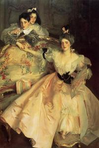 John Singer Sargent - Mrs. Carl Meyer and Her Children