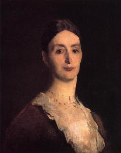 John Singer Sargent - Portrait of Frances Mary Vickers