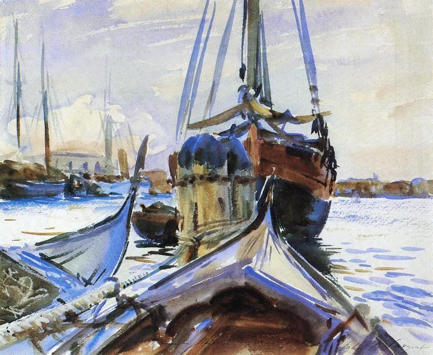 Order Paintings Reproductions | Venice, 1911 by John Singer Sargent (1856-1925, Italy) | WahooArt.com