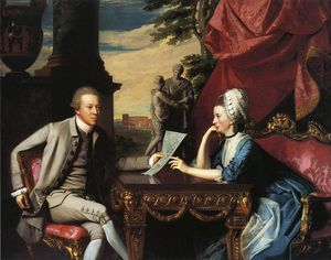 John Singleton Copley - Mr. and Mrs. Ralph Izard (Alice Delancey)