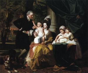 John Singleton Copley - Sir William Pepperrell and Family