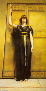 John William Godward - The Priestess