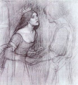 John William Waterhouse - A Female Study