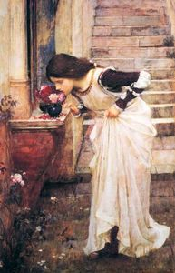 John William Waterhouse - At the Shrine