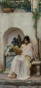 John William Waterhouse - Flora