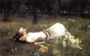 John William Waterhouse - Ophelia 1 - (Buy fine Art Reproductions)