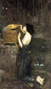 John William Waterhouse - Pandora
