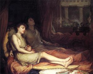 John William Waterhouse - Sleep and His Half Brother Death
