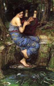 John William Waterhouse - The Charmer