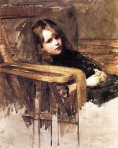 John William Waterhouse - The Easy Chair