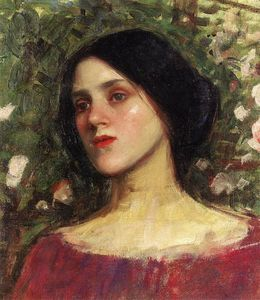 John William Waterhouse - The Rose Bower