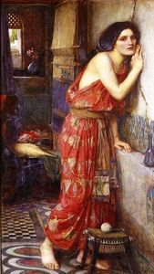 John William Waterhouse - Thisbe (aka The Listener)