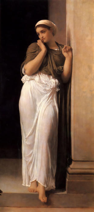 Order Paintings Reproductions | Nausicaa by Lord Frederic Leighton (1830-1896, United Kingdom) | WahooArt.com