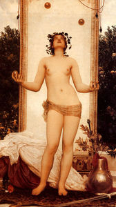 Lord Frederic Leighton - The Antique Juggling Girl