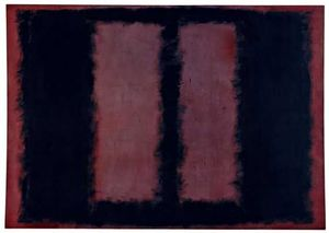 Mark Rothko (Marcus Rothkowitz) - Black and Maroon