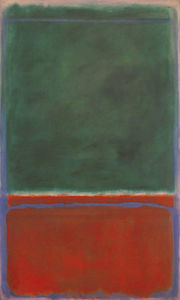 Mark Rothko (Marcus Rothkowitz) - Green and Maroon