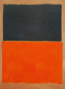 Mark Rothko (Marcus Rothkowitz) - Green and Tangerine on Red