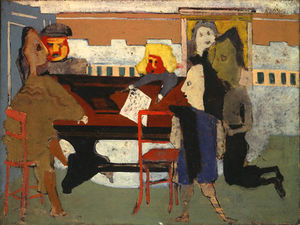 Mark Rothko (Marcus Rothkowitz) - The Party