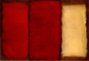 Mark Rothko (Marcus Rothkowitz) - Three