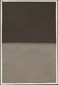 Mark Rothko (Marcus Rothkowitz) - Untitled (brown and gray) 2