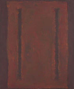 Mark Rothko (Marcus Rothkowitz) - Untitled (Seagram Mural sketch) 1