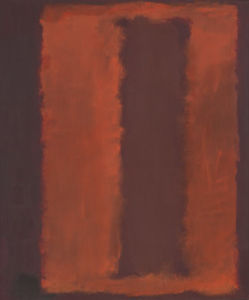 Mark Rothko (Marcus Rothkowitz) - Untitled (Seagram Mural sketch) 3