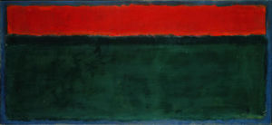 Mark Rothko (Marcus Rothkowitz) - Untitled 100