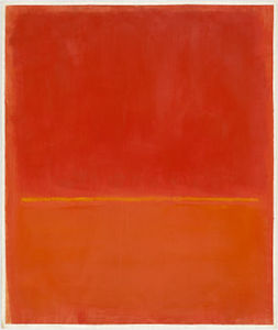 Mark Rothko (Marcus Rothkowitz) - Untitled 145