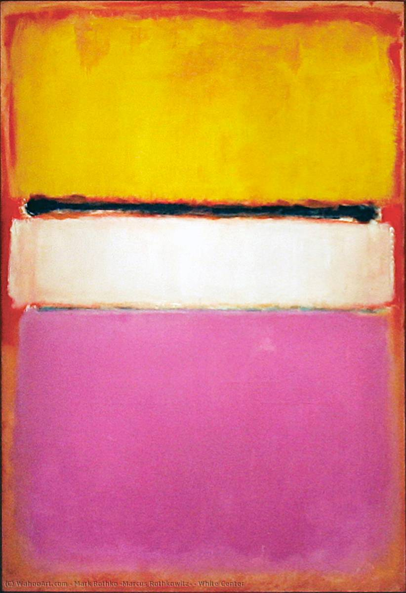 White Center, Oil by Mark Rothko (Marcus Rothkowitz) (1903-1970, Latvia)