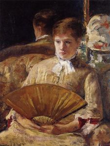 Mary Stevenson Cassatt - Portrait of a Lady aka Miss Mary Ellison