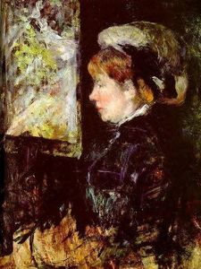 Mary Stevenson Cassatt - The Visitor