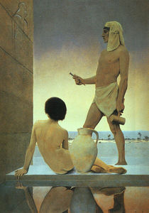 Maxfield Parrish - Egypt