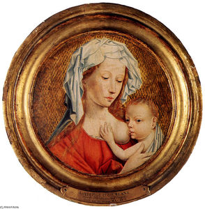 Robert Campin (Master Of Flemalle) - Madonna and Child