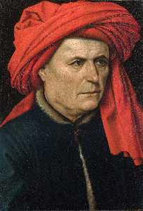 Robert Campin (Master Of Flemalle) - Portrait of a Man
