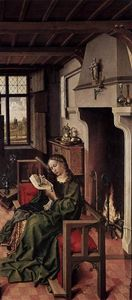 Robert Campin (Master Of Flemalle) - The Werl Altarpiece (right wing)