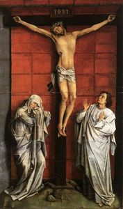 Rogier Van Der Weyden - Christ on the Cross with Mary and St. John