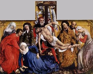 Rogier Van Der Weyden - Descent from the Cross 1