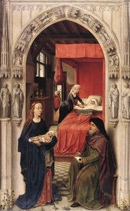 Rogier Van Der Weyden - St John the Baptist altarpiece - left panel