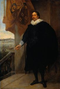 Anthony Van Dyck - Nicolaes van der Borght, Merchant of Antwerp