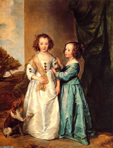 Anthony Van Dyck - Philadelphia and Elizabeth Wharton
