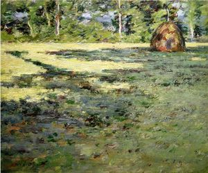Theodore Robinson - Afternoon Shadows 1