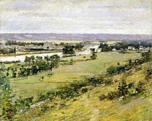 Theodore Robinson - Valley of the Seine 1