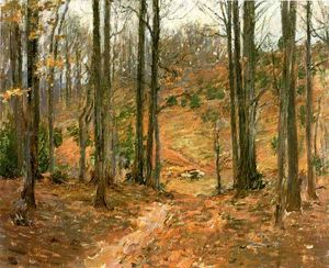 Theodore Robinson - Virginia Woods