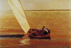 Thomas Eakins - Sailing