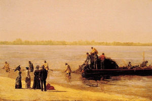 Thomas Eakins - Shad Fishing at Gloucester on the Delaware River