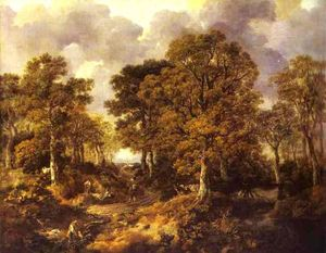 Thomas Gainsborough - Gainsborough's Forest (Cornard Wood)