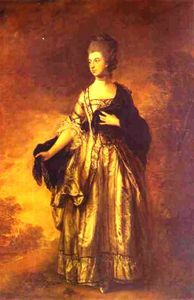 Thomas Gainsborough - Isabella, Viscountess Molyneux