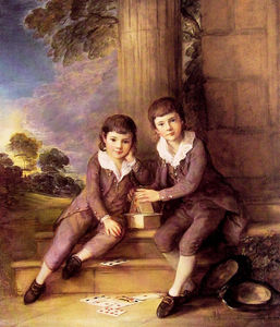 Thomas Gainsborough - John and Henry Trueman Villebois